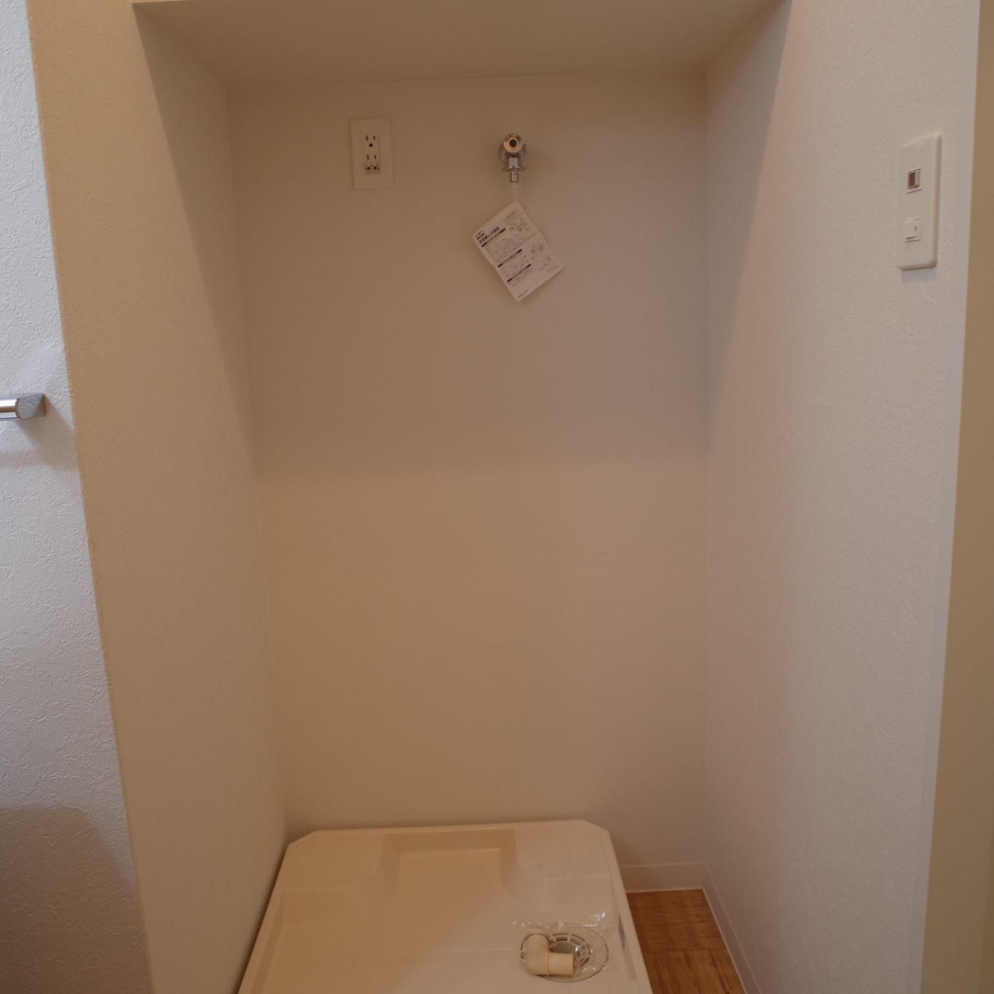 九大 伊都 エターナルハタエ 一人暮らし 洗濯機置き場