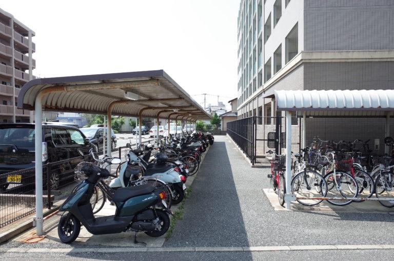 九大 伊都キャンパス 学生専用 駐輪場