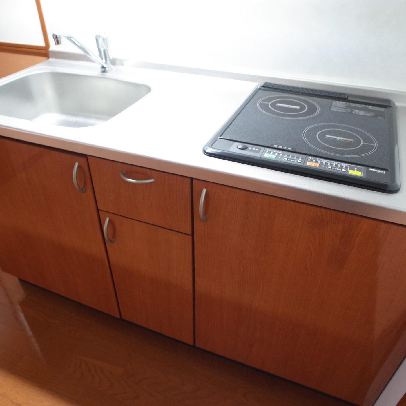 九州大学 伊都 アプリカード 一人暮らし キッチン